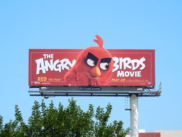 Angry Birds Movie billboard