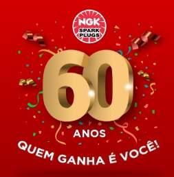 Cadastrar Promoção NGK 60 Anos 2019 - Concorra Prêmios