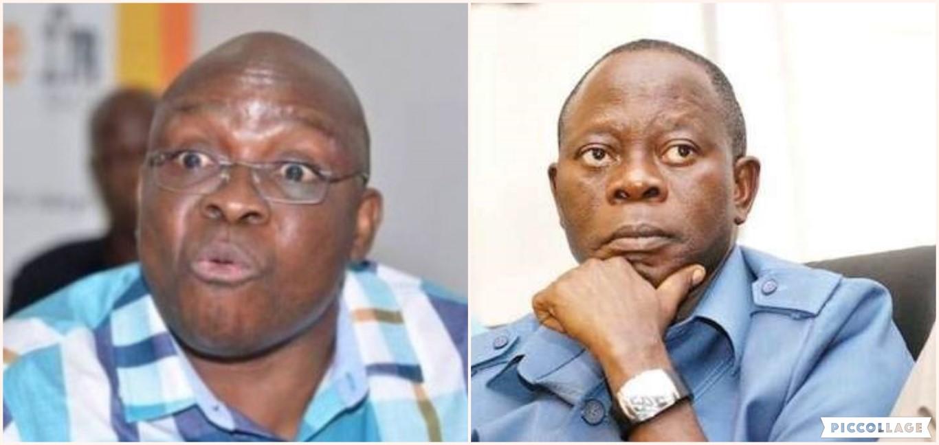 Oshiomhole An Election Rigger, A Fake Comrade Obasanjo Bribed Severally – Fayose