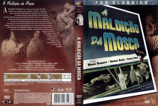 Capa DVD A Maldição da Mosca