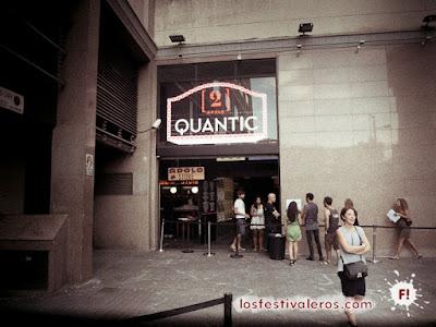 Quantic en Apolo2 de Barcelona