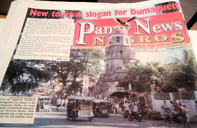 """Dumaguete is simply the place to be"""