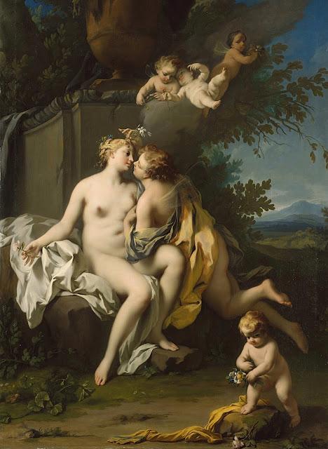 Jacopo Amigoni: Flora e Zefiro