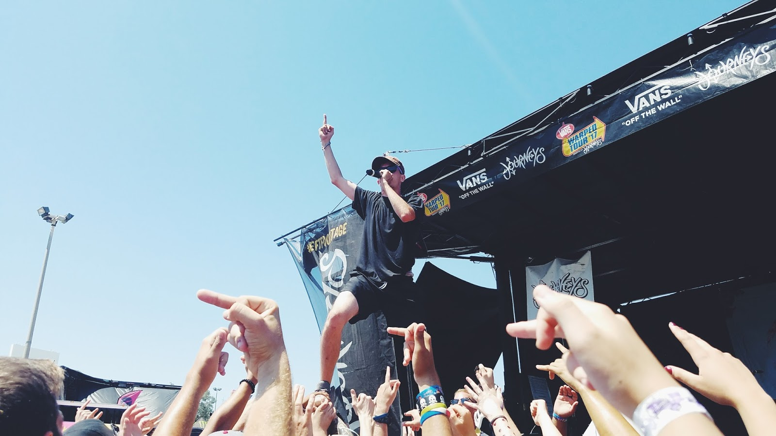 Courtney Tomesch Vans Warped Tour 2017 San Diego California Watsky