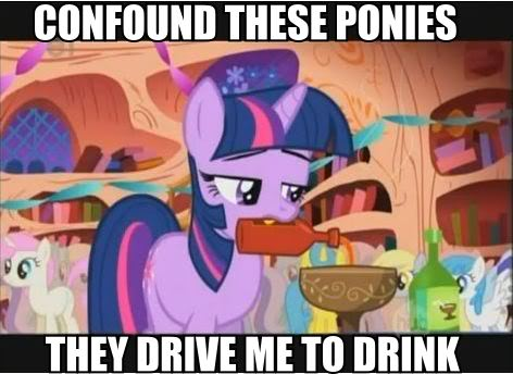 Pony Drink Of The  S Percentage