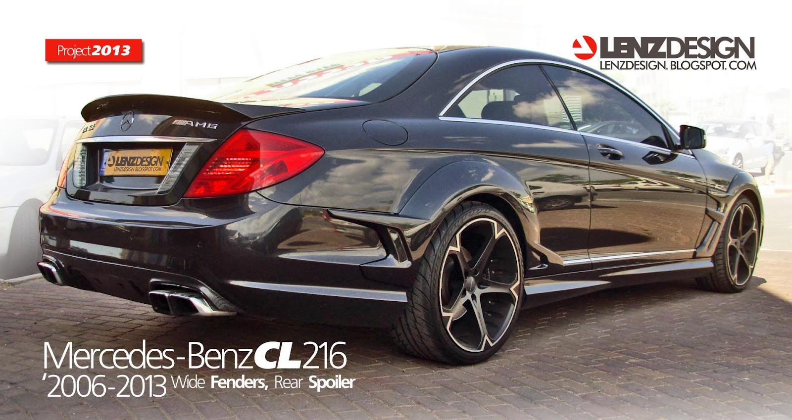 Lenzdesign Performance Wide Body Kit Mercedes Benz Cl 216 Tuning