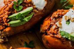 Smoky Lentil Stuffed Sweet Potatoes Recipes