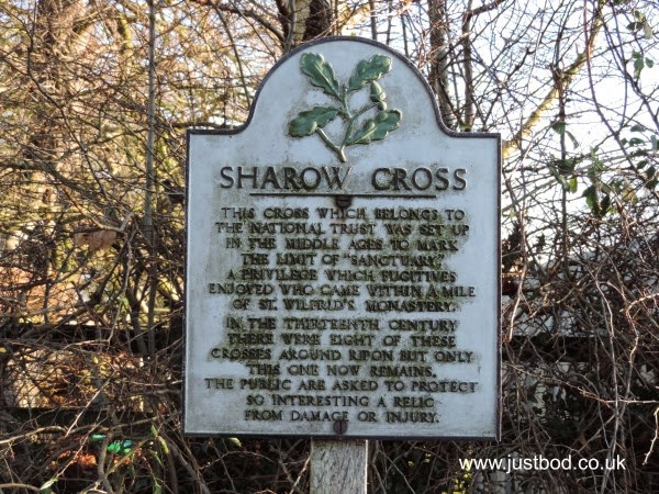 Sharrow Cross, Sanctuary Marker, Sharrow, Ripon