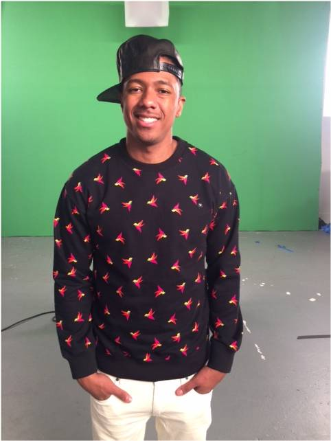 Nick Cannon Wearing Konus