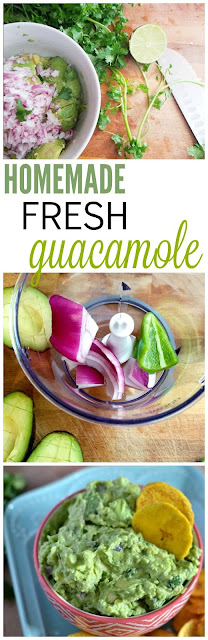 We love this guacamole! It is so easy and we can't do taco night without it!