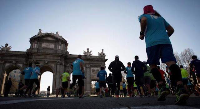 Más de 35.000 personas inundan Madrid en la fiesta del Maratón