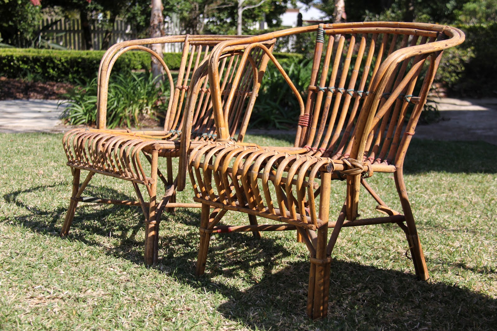 how do you cane a chair accent and ottoman set vintage finds verandah seagrass or split