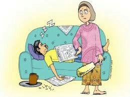Cara Tangani Suami Yang Pemalas