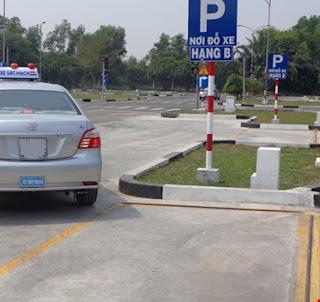thi bằng lái xe ô tô