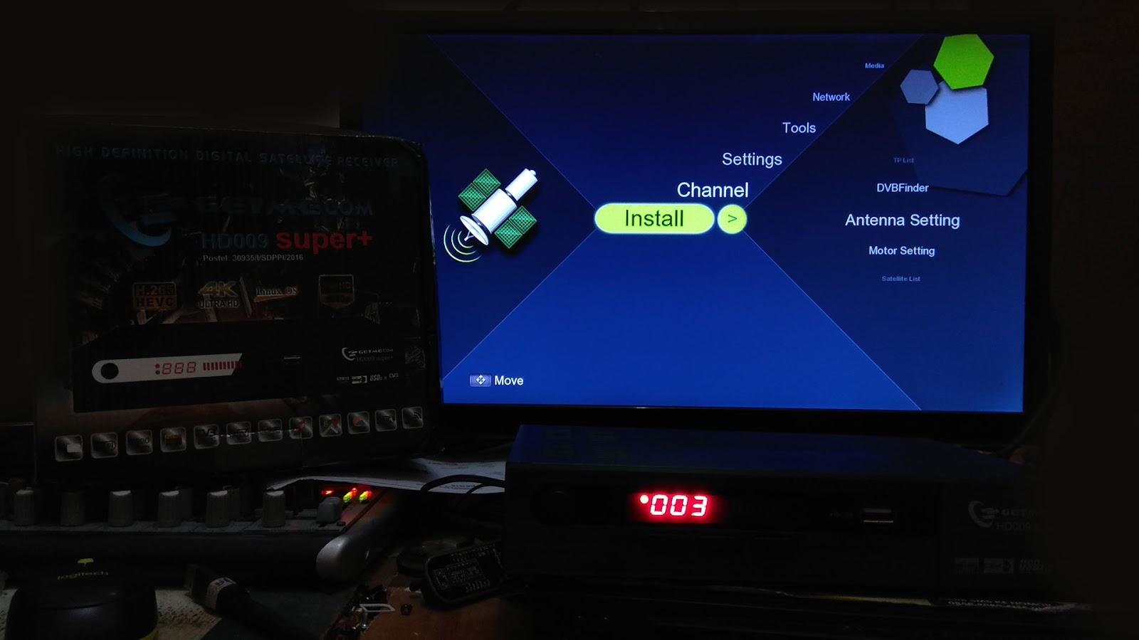 Harga dan Spesifikasi Receiver Getmecom HD009 Super Plus