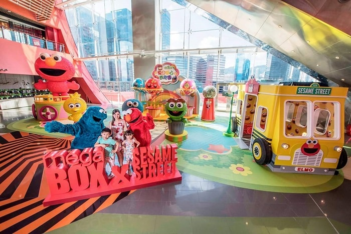 Megabox x Sesame Street Summer Wonderland