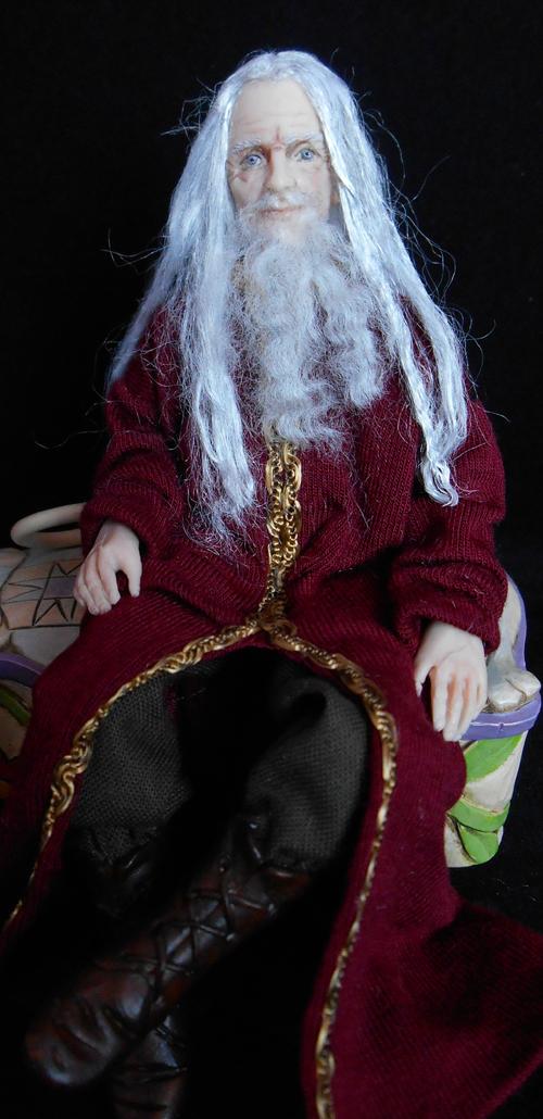 Julie Campbell Doll Artist Merlin  A Magical Medieval