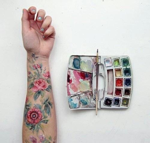 Popular Watercolor Tattoos For Women and Men