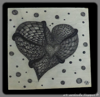 zendoodle aquafleur zentangle coeur