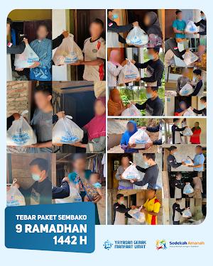 Penyaluran Sembako Ramadhan 1442H Tahap 3