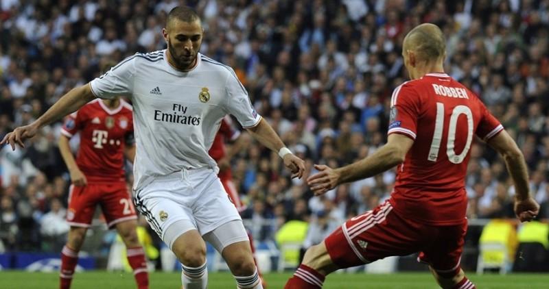 Benzema dan Robben