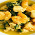 Garlic Coconut Curry Shrimp Bowl Recipe