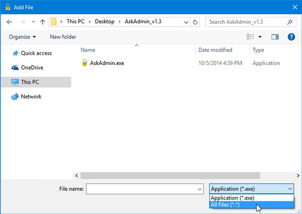 AskAdmin lets Block Programs in Windows-1