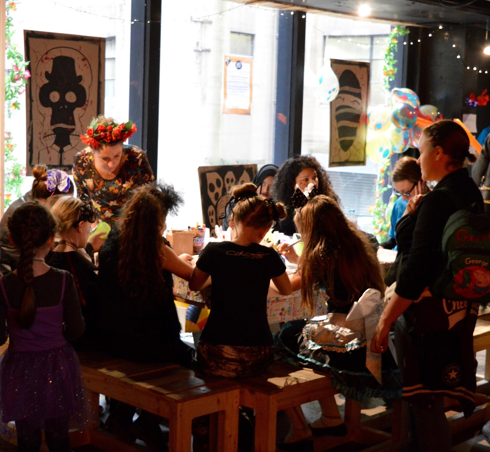 Juice Festival | Day of the Dead Family Celebrations at ¡Vamos! Social, Newcastle  - kids craft area