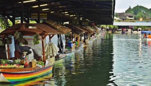 Wisata Floating Market Lembang Atau Situ Umar Wisata Floating Market Lembang