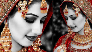 Wedding Bride Photo Editing