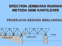 Metode Pemasangan jembatan Rangka Baja