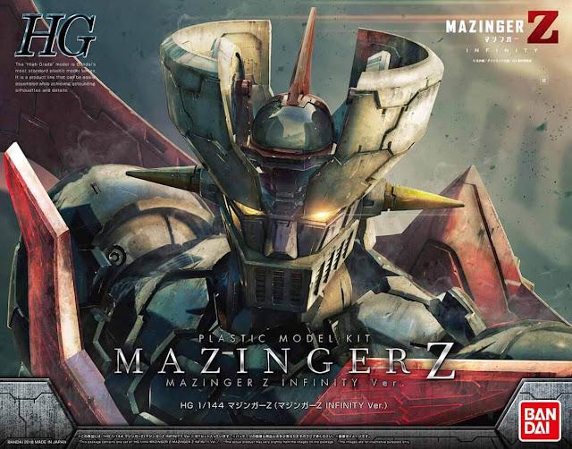GUNPLA: HG MAZINGER Z INFINITY VER. model kit