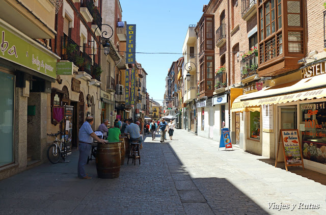 Bares en Calle Isilla, Aranda de Duero