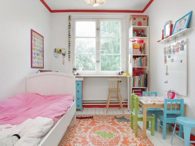 desain kamar tidur anak perempuan