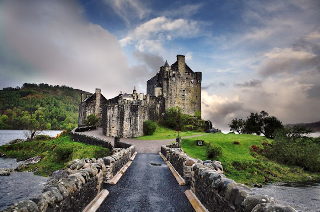 Eilean Donan, Pulau Loch Duich, Skotlandia