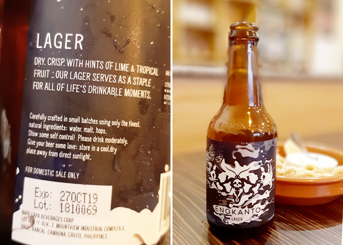 Engkanto Craft Beer Lager