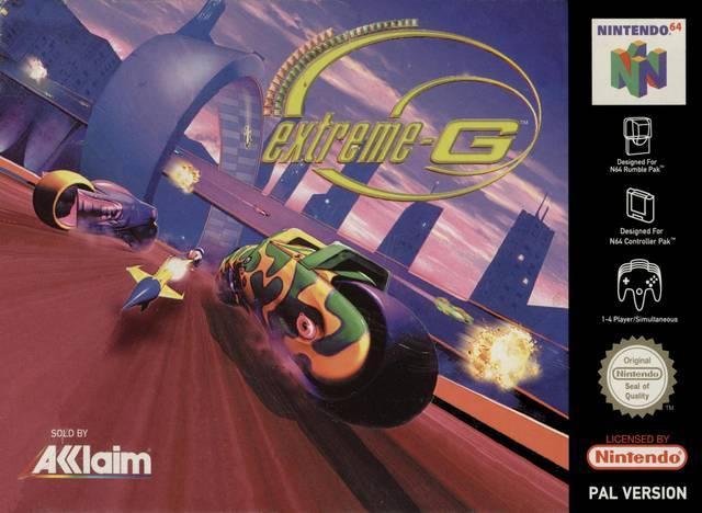 Nintendo 64 Gamers Retroanalisis Extreme G 1997