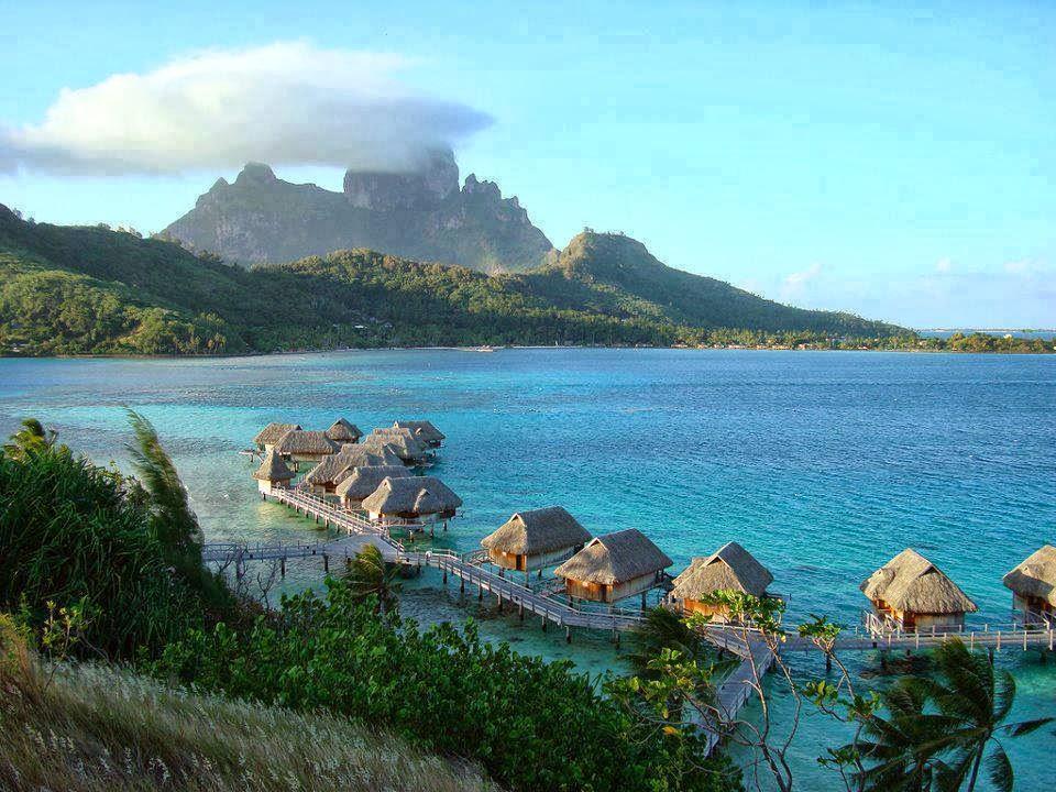 Alluring Planet Bora Bora French Polynesia
