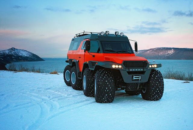Avtoros Shaman 8*8 off roader