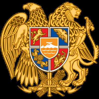 Coat of arms - Flags - Emblem - Logo Gambar Lambang, Simbol, Bendera Negara Armenia