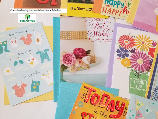 Dollar Tree Greeting Cards Expressions from Hallmark