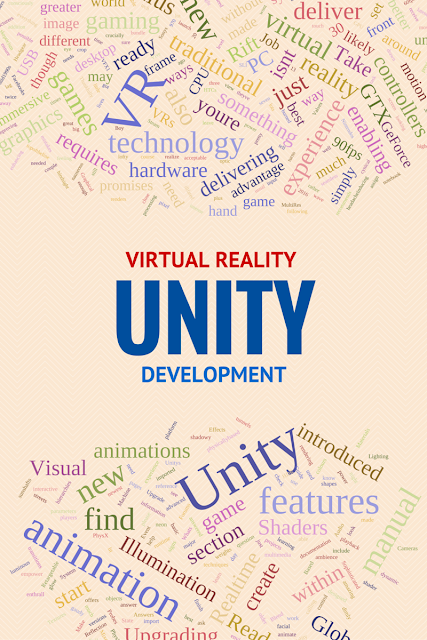 Unity can be used to do virtual reality app development