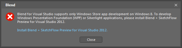 SLIIT from the 'Beginning': Blend for Visual Studio 2012