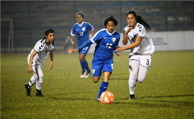 Indian Womens Team in SAFF Championship