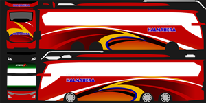 Livery Halmahera SHD K410iB
