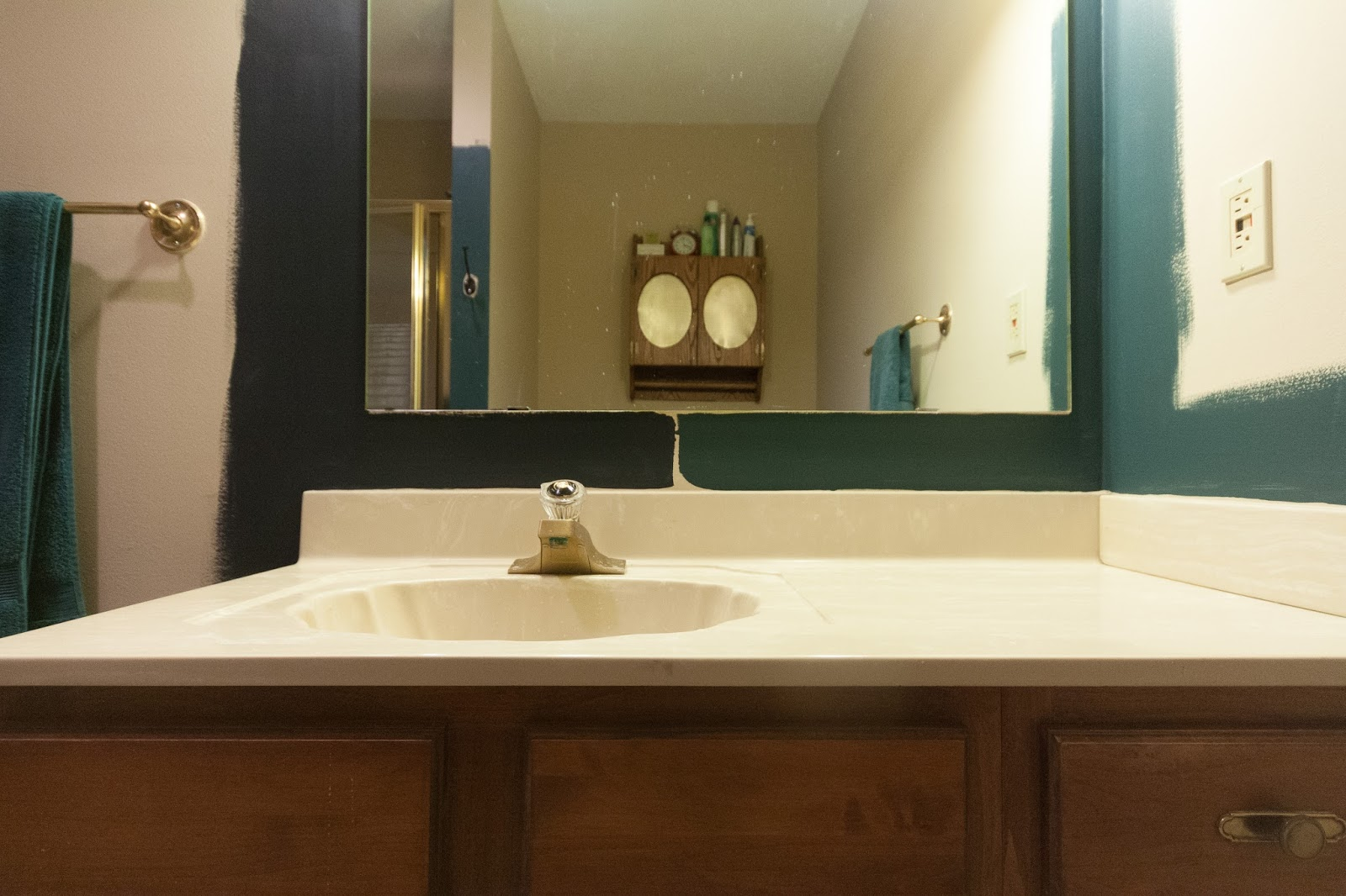 windowless bathroom paint colors black and green bathroom russet reno a dramatic 21672