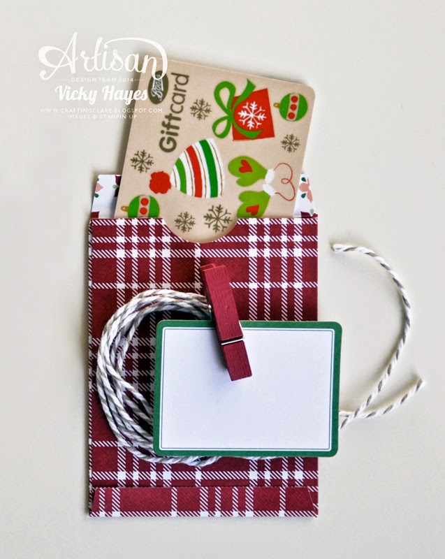 gift card envelope and trims