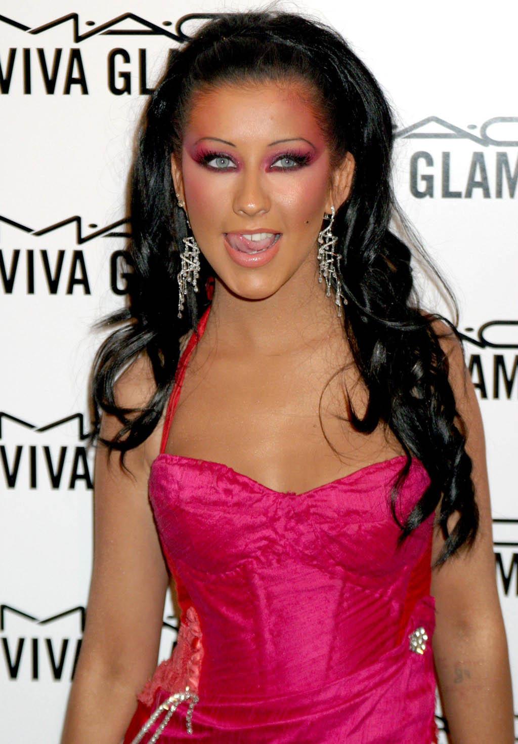 Christina Aguilera Hot Celebrities