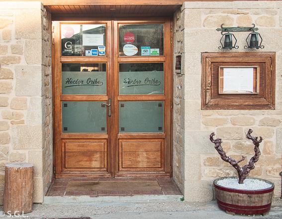Restaurante Hector Oribe. Excursion a la rioja alavesa en autobus