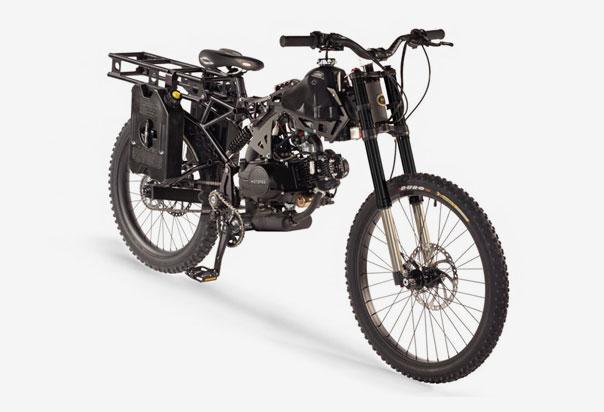 Patented Jackshaft Pedal Drive System
